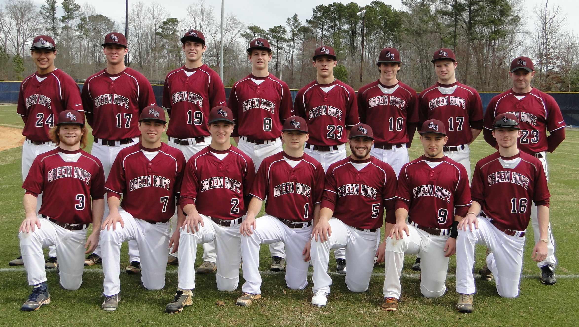 2014 Varsity Team