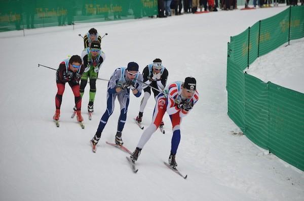 Skiers at Stowe