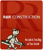 R & R Construction logo