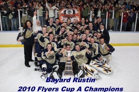 Bayard Rustin 2010 Flyers Cup