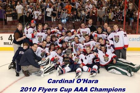 CArdinal O'Hara 2010 Flyers Cup Champs