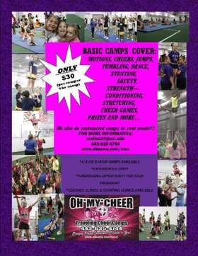 PURP MULIT $30 CHEER CAMP