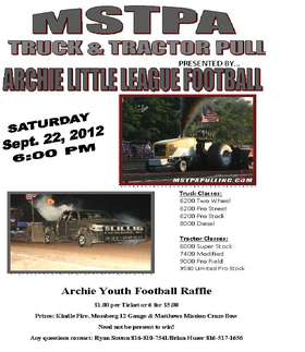 Tractor Pull Flyer