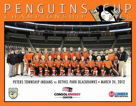 Bethel Park 2012 Penguins Cup