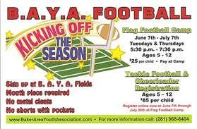 2016 Football Flyer