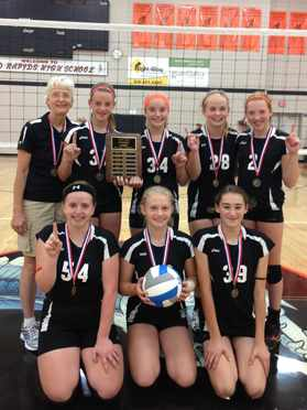 8th Grade Spikers Champs