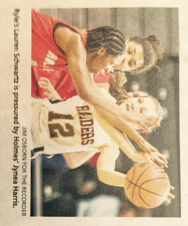 Lauren newspaper