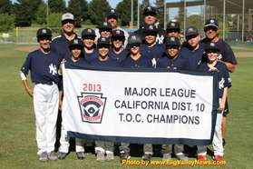 2013 D10 Major TOC Champions