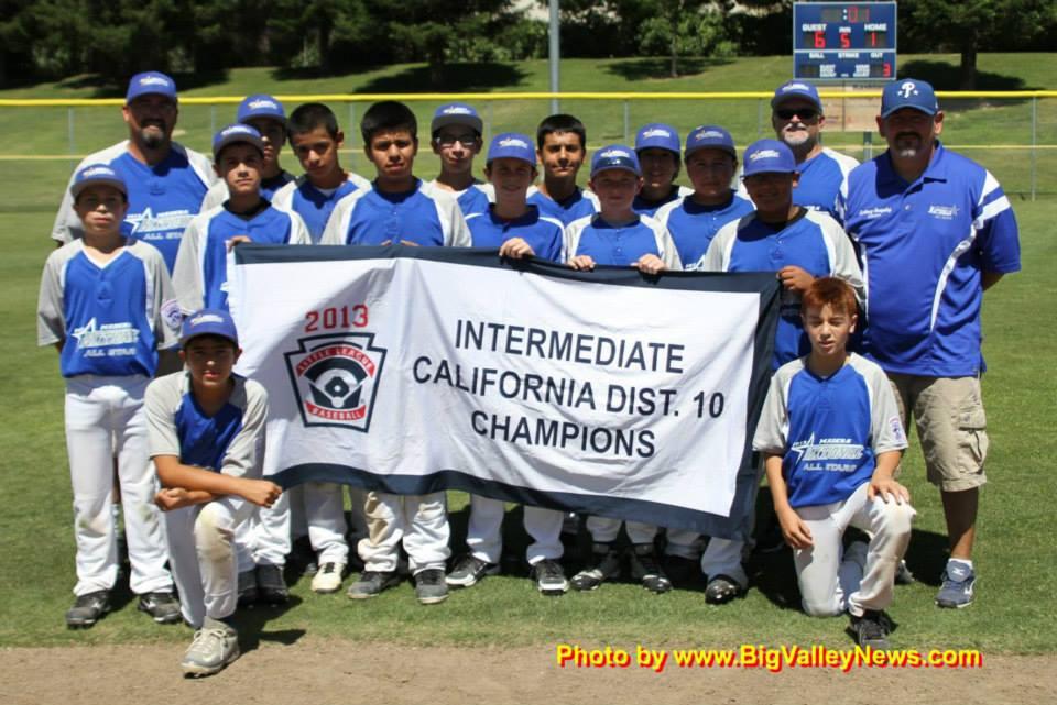 2013 Intermediate Champions
