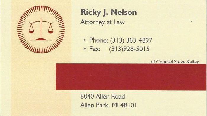 Ricky J Nelson