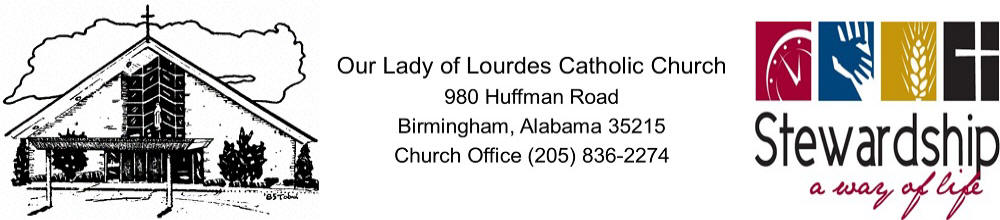 Our Lady of The Lourdes