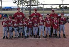 Pinto Diamondbacks Fall 2013 Champs