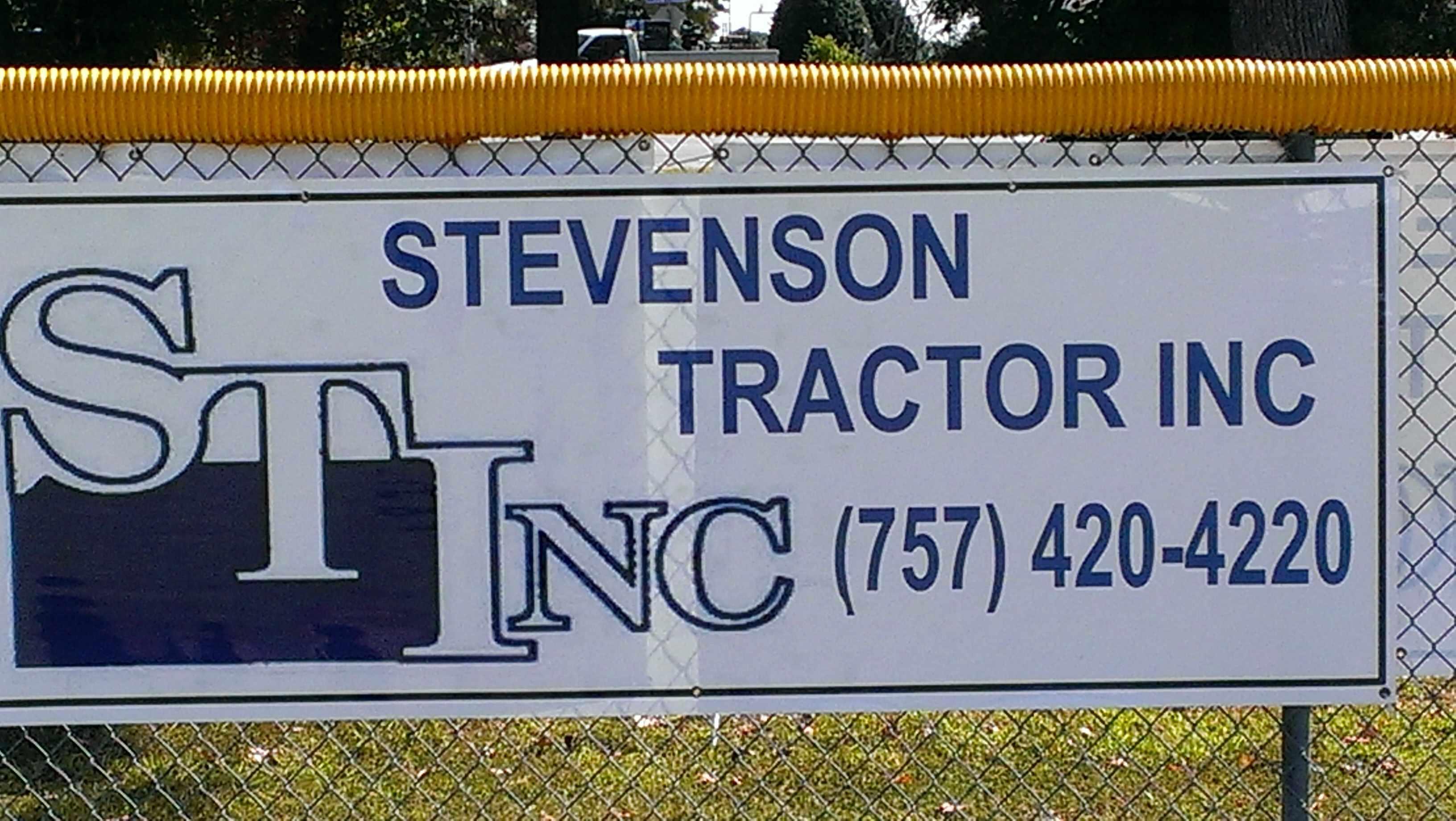 Stevenson Tractor Banner