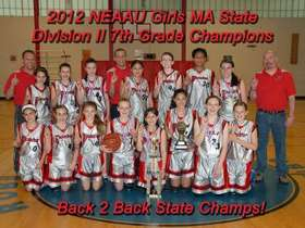 2012 7th Grade  Div II Mass State Champs