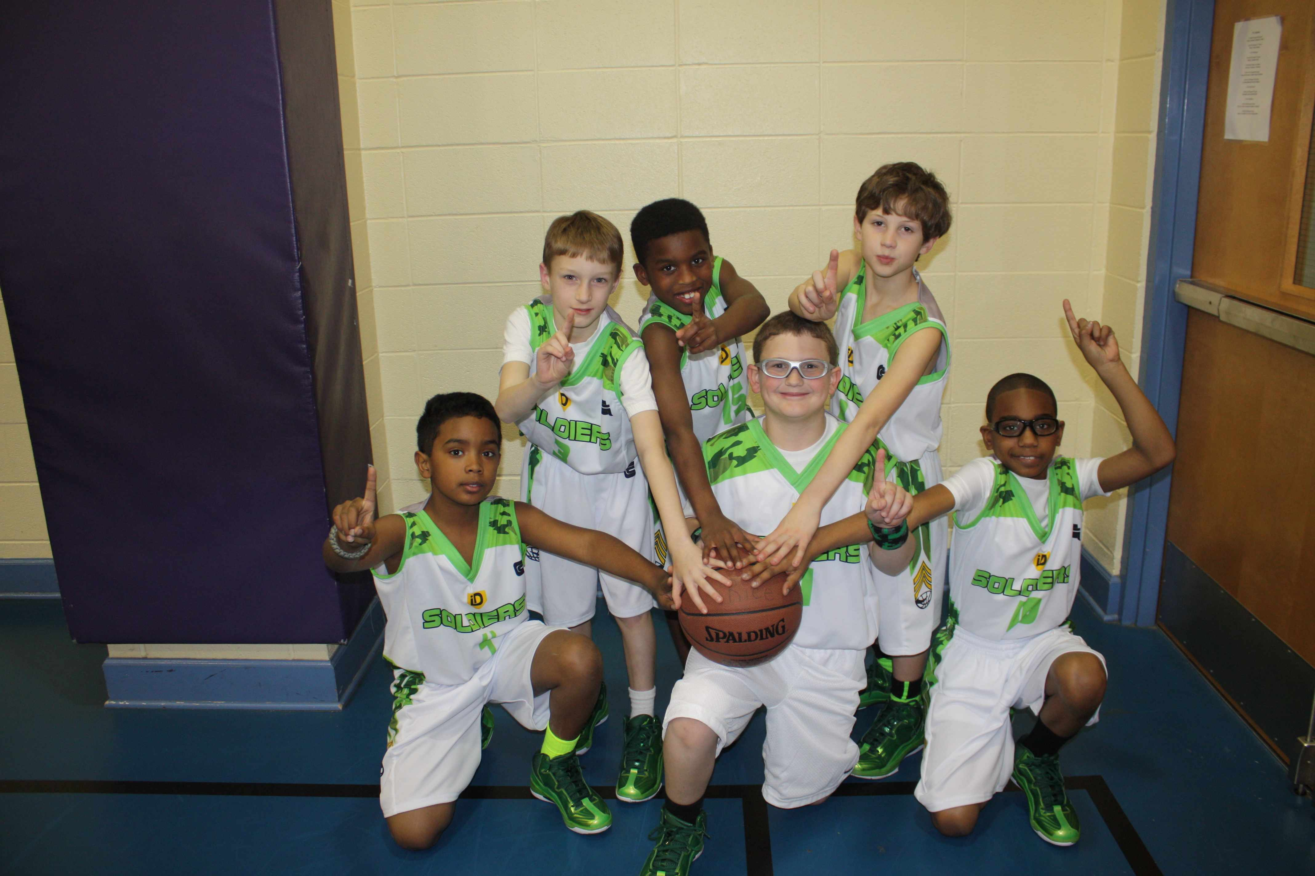 3rd Grade Team (White Uniforms)