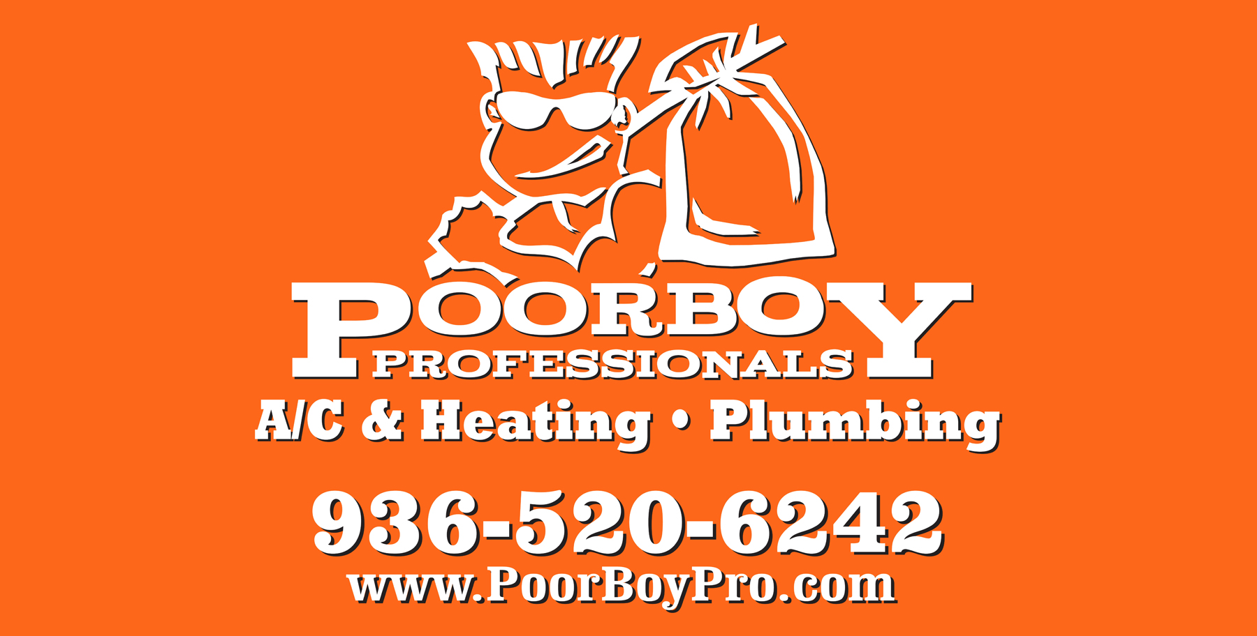 POORBOY Proffesionals A/C & Heating, Plumbing