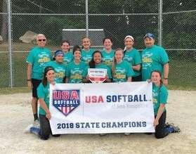 2018 18U State Champions