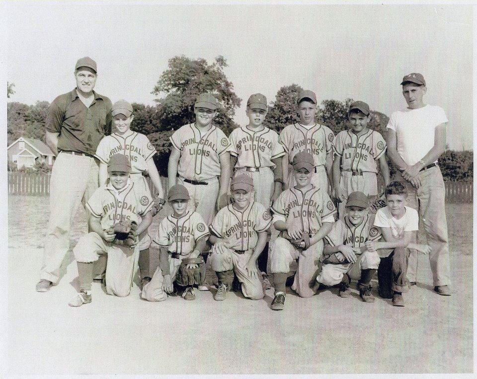 1955 Springdale Lions