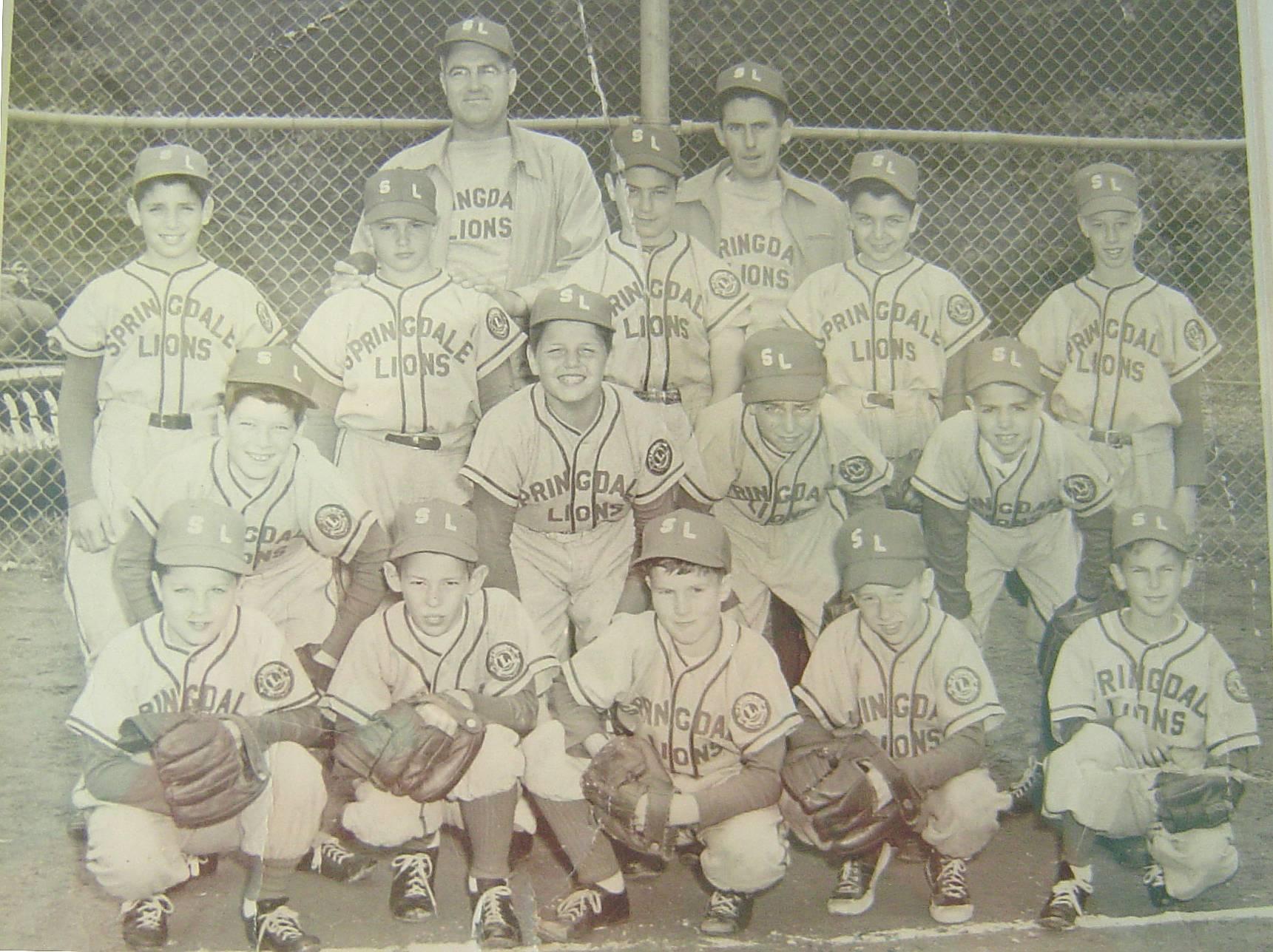 1954 Springdale Lions