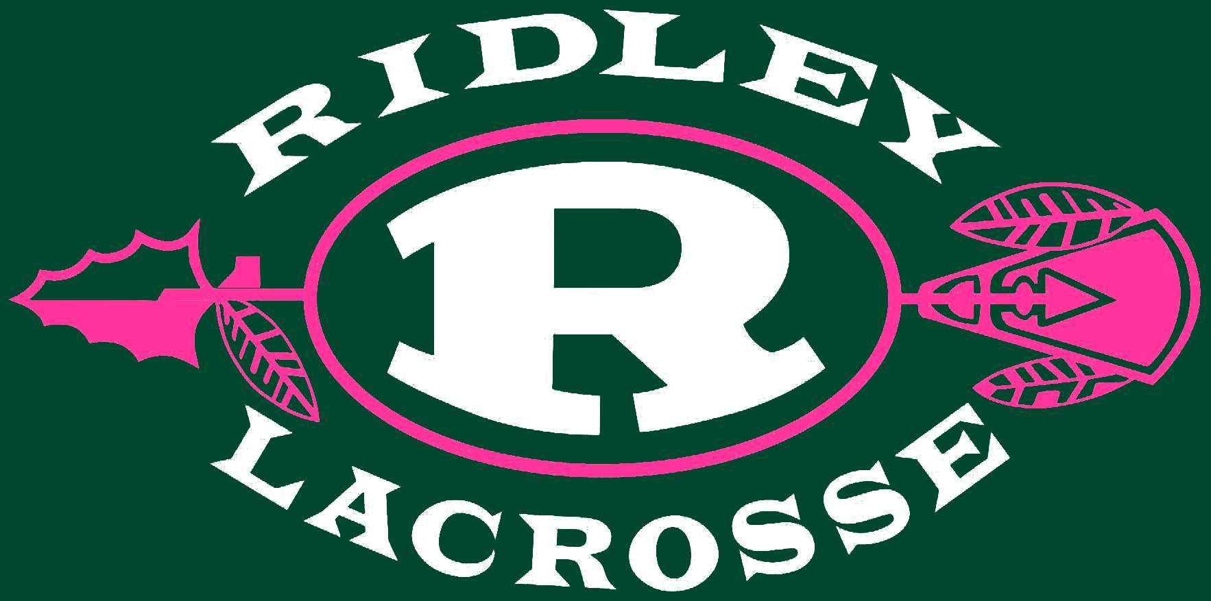Girls Lax Logo - Green Back - Letters