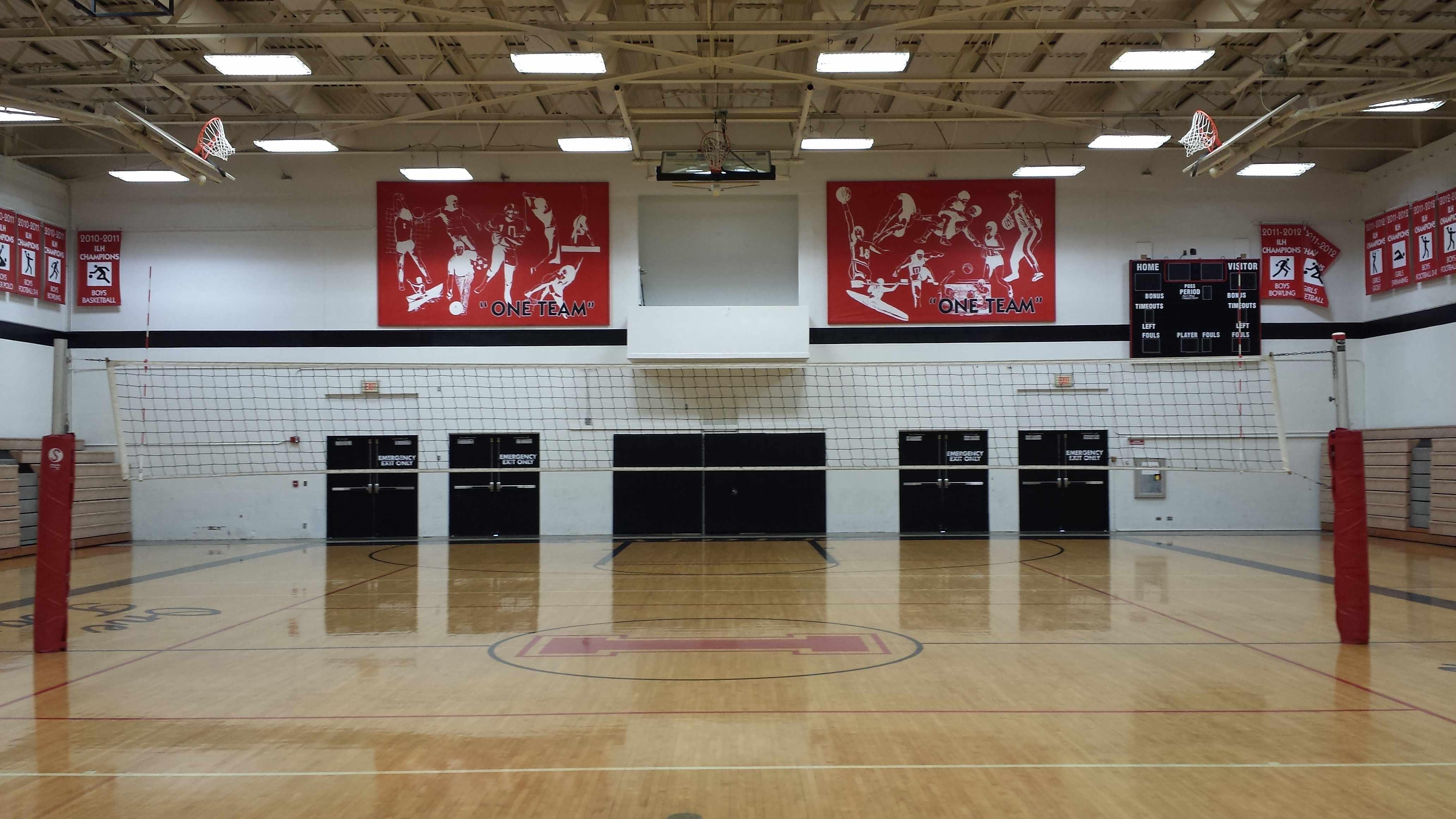 Lower Gym Volleyball