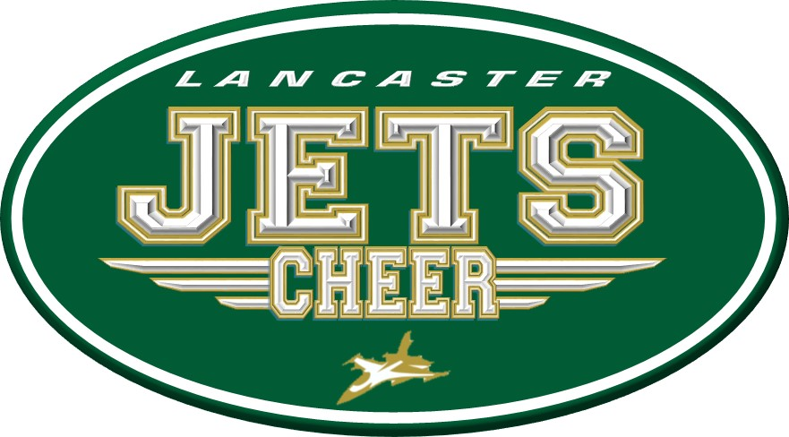LANCASTER JETS CHEER LOGO 2016