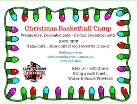 CAB Christmas Camp 2018