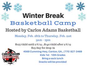 CAB Winter Break 2019