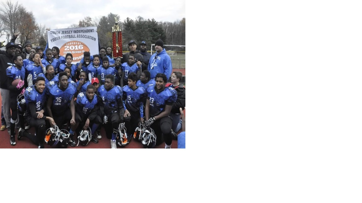 6296a027bca Ewing Jr. Blue Devils Youth Football