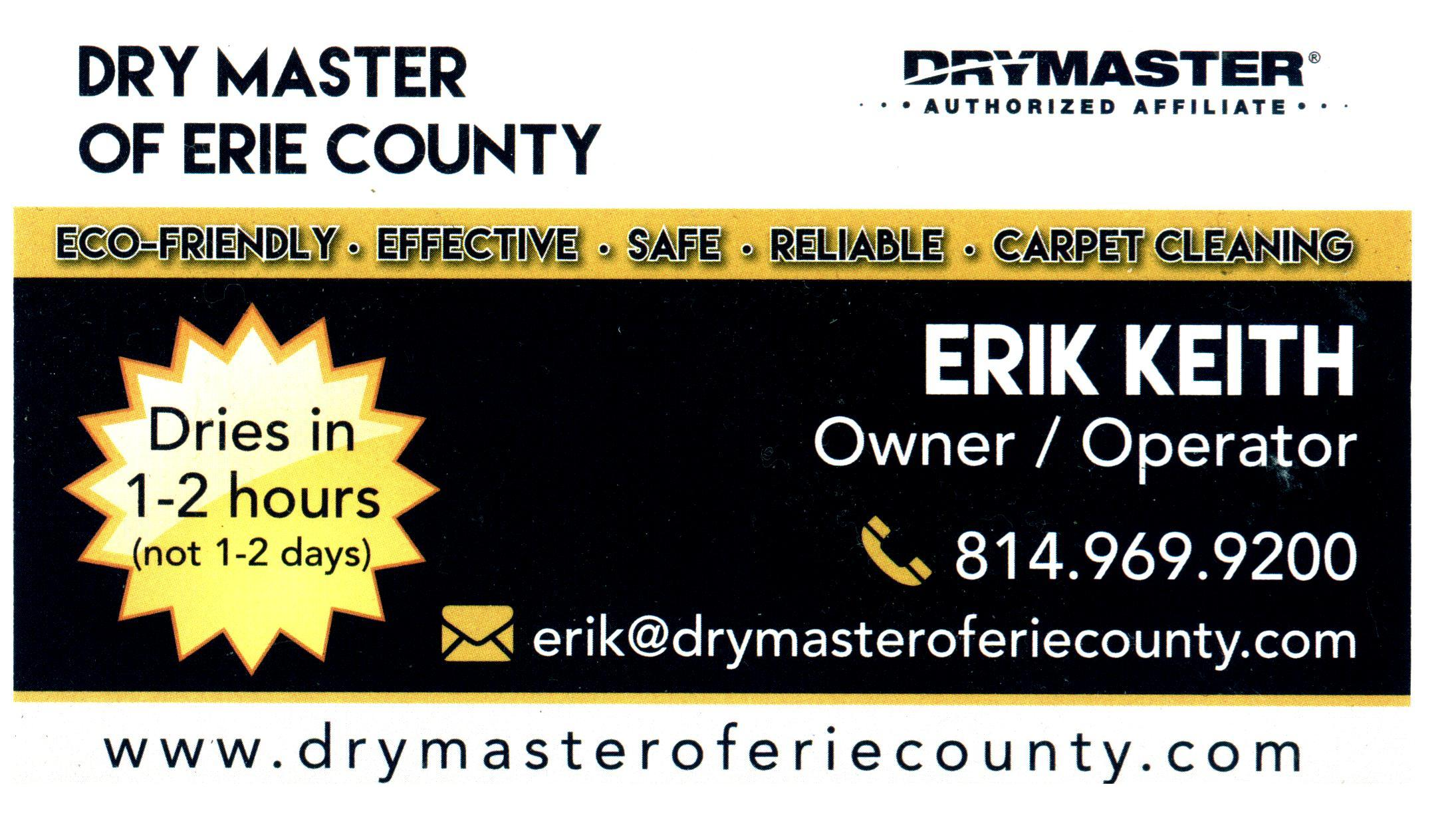 Drymaster of Erie County