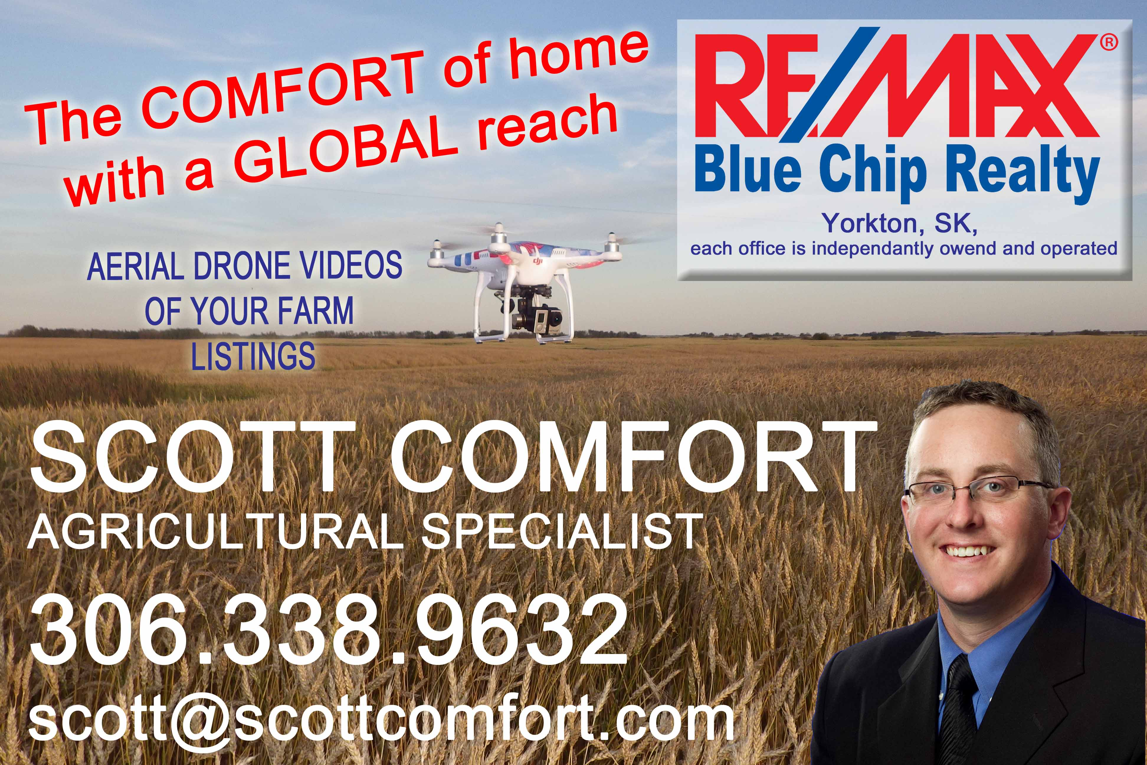 Scott Comfort RE/MAX Blue Chip Realty