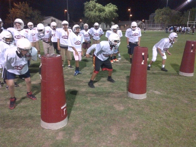 2013 CMFB Murphy South practice