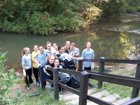 030914 - paint creek cleanup