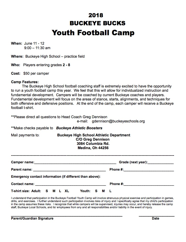 2018 Youth Camp