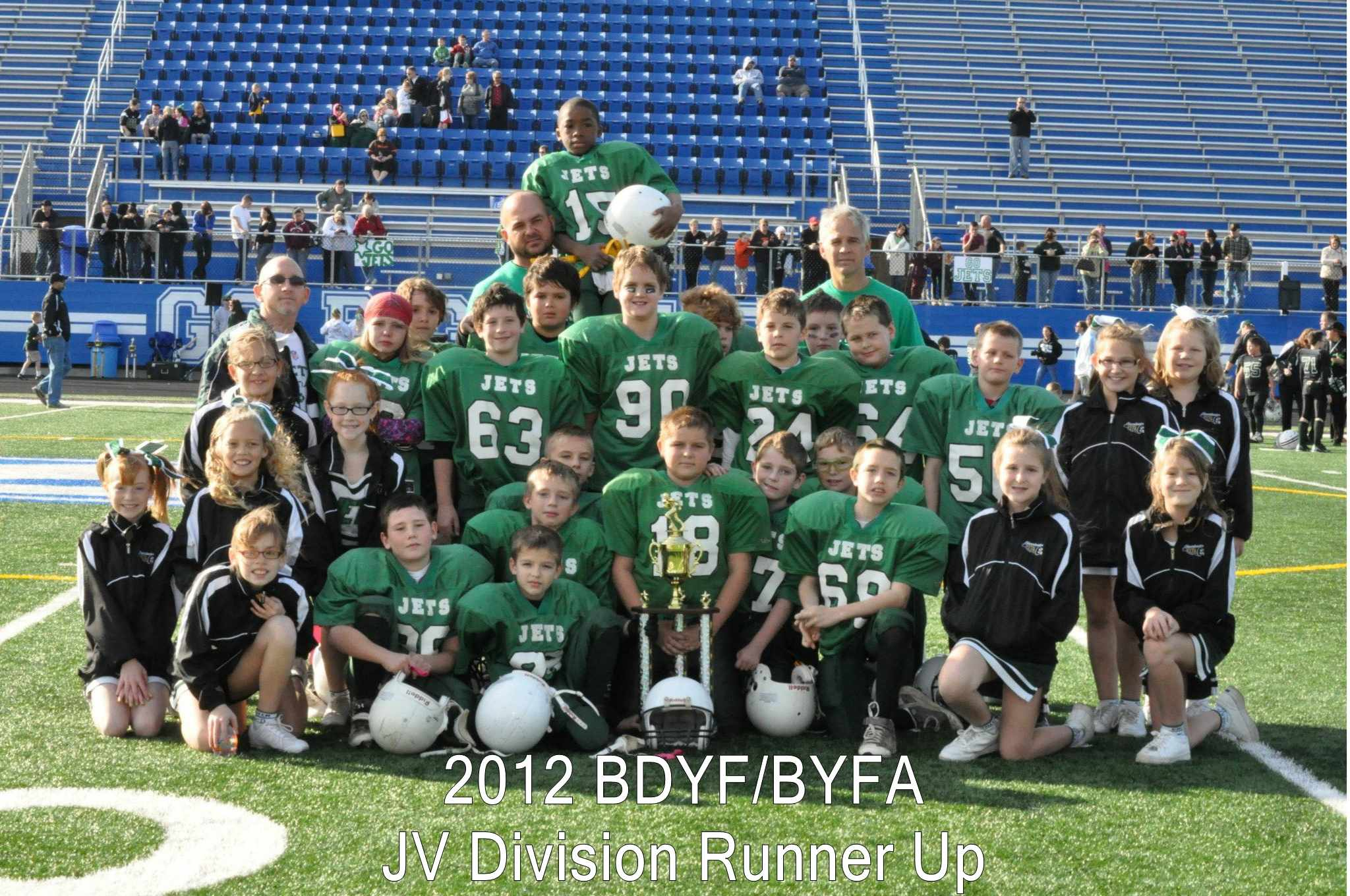 2012 Jets JV Runner Up