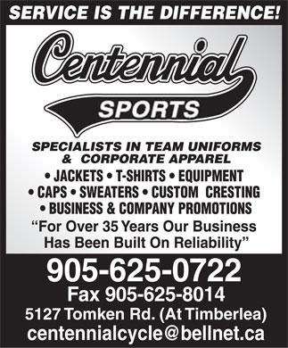 Centennial Sports