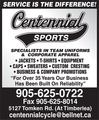 Centennial Cycle & Sports