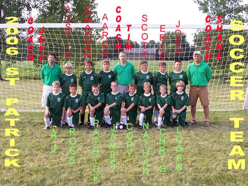 2006 St Pats Soccer Team sm