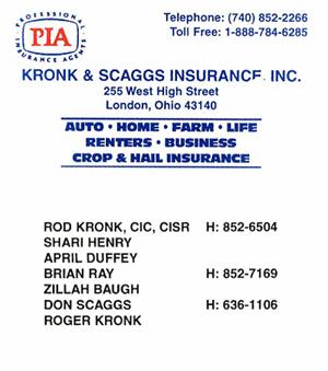Kronk - Scaggs Insurance  sm