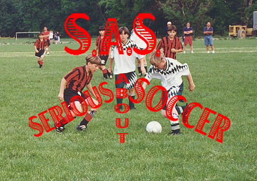 S A S  - SERIOUS ABOUT SOCCER