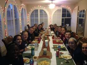 2014 pasta party