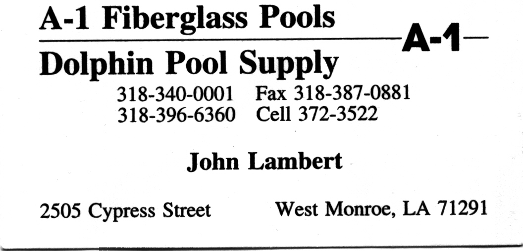 Dolphin Pool Supply