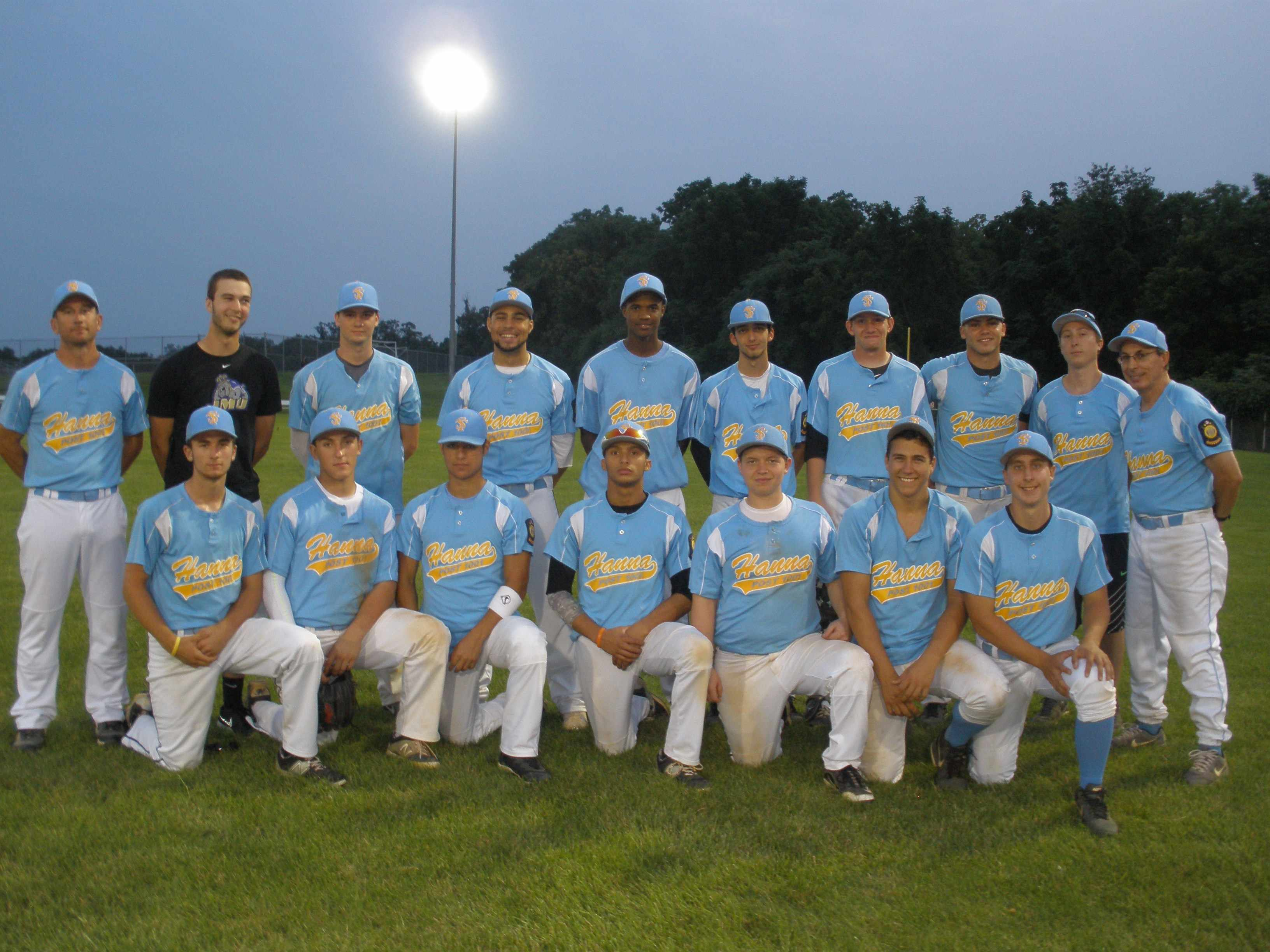 2015 Legion Team Photo