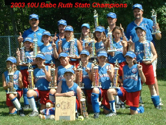 2003 Babe Ruth State Champions