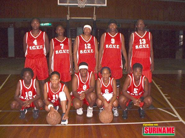 Dames hoofdklasse basketbalkampioen 2002