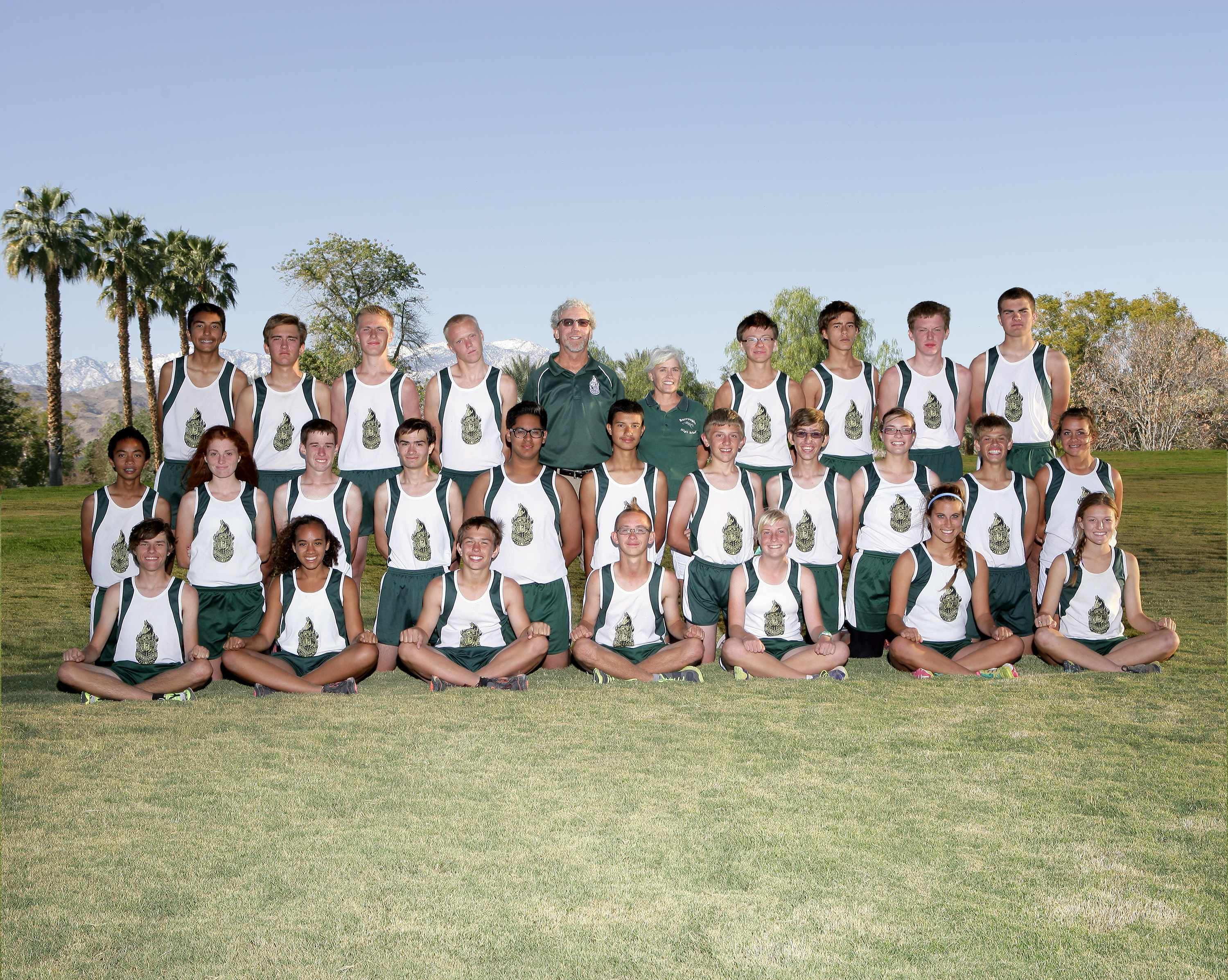 Burroughs Ridgecrest Cross Country And Track Field