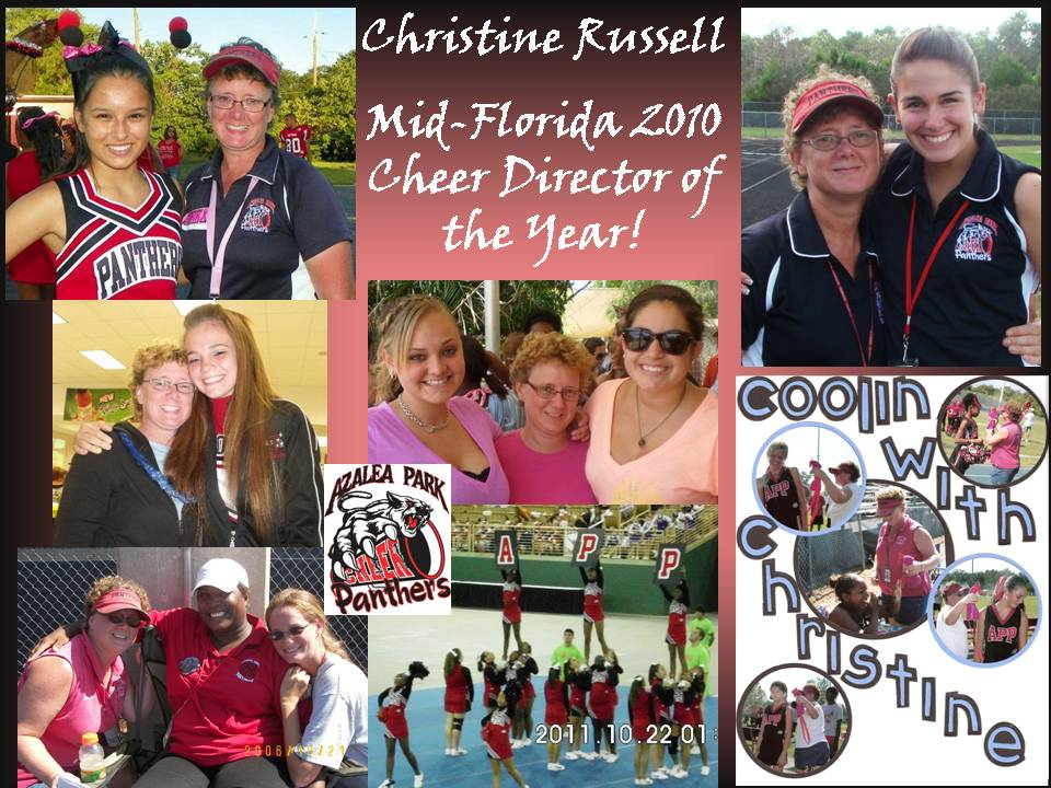 2010 Mid-FL Cheer Director of the Year