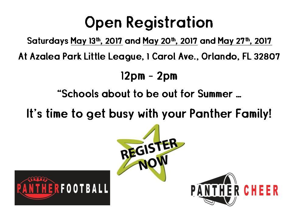 2017 May Registrations