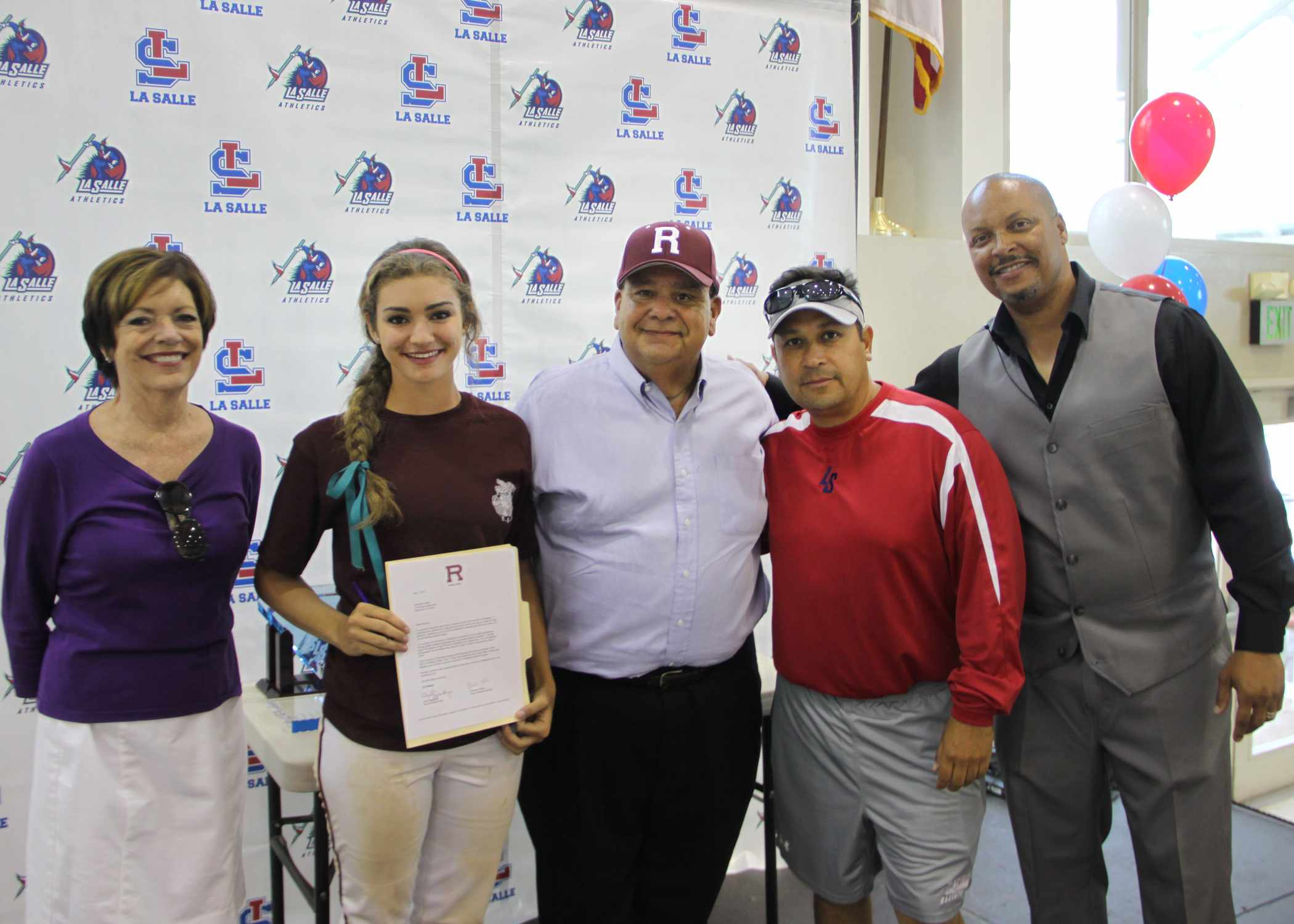 2014 Valerio Sign Redlands Family