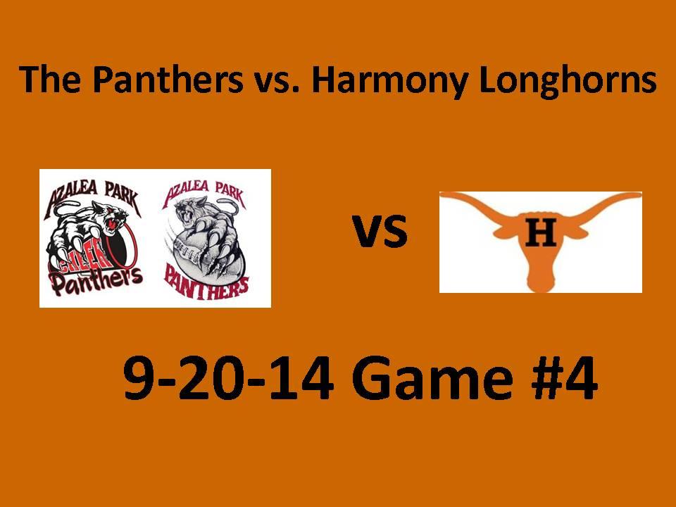 2014 9-20-14 Game vs Harmony